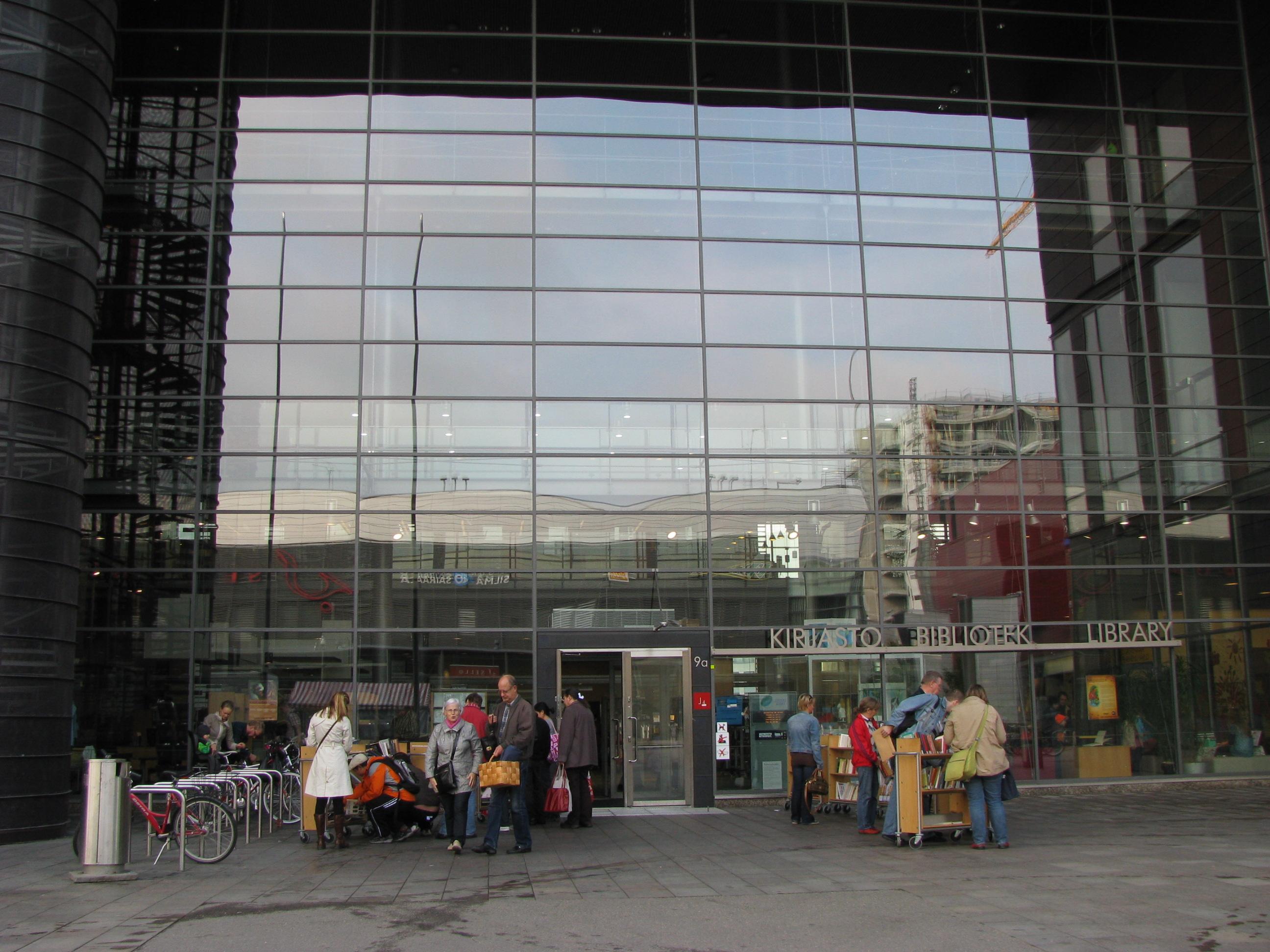 Espoo City Library, Sello | Libraries.fi