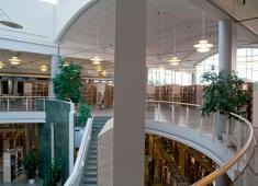 Kokkola City Library – Regional Library / Interior / Photograph by Joni Virtanen, 2008