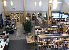 Naantali City Library, Rymättylä / Photograph by Matti Rinne, 2007