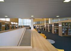 Turku City Library, Main Library / Photograph by Arno de la Chapelle, 2007